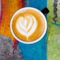 Flat White at Mojo Coffee House in New Orleans