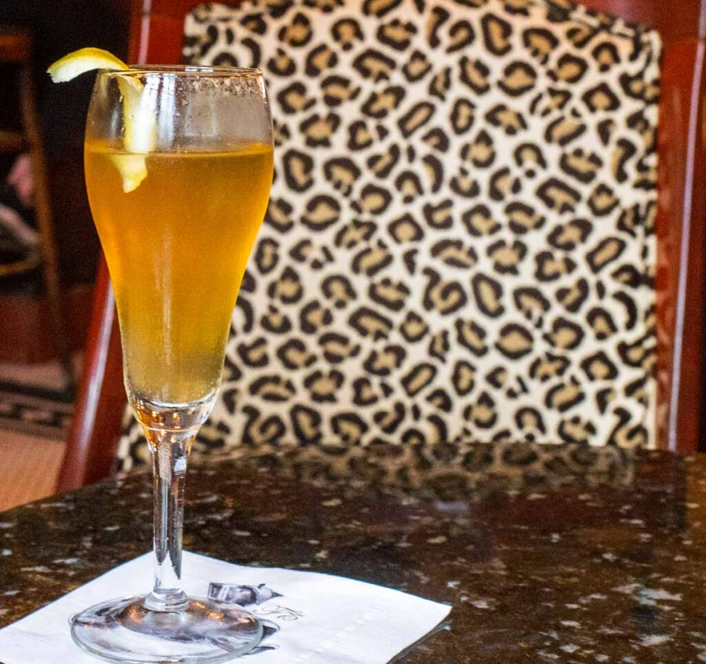 French 75 at Arnauds in New Orleans