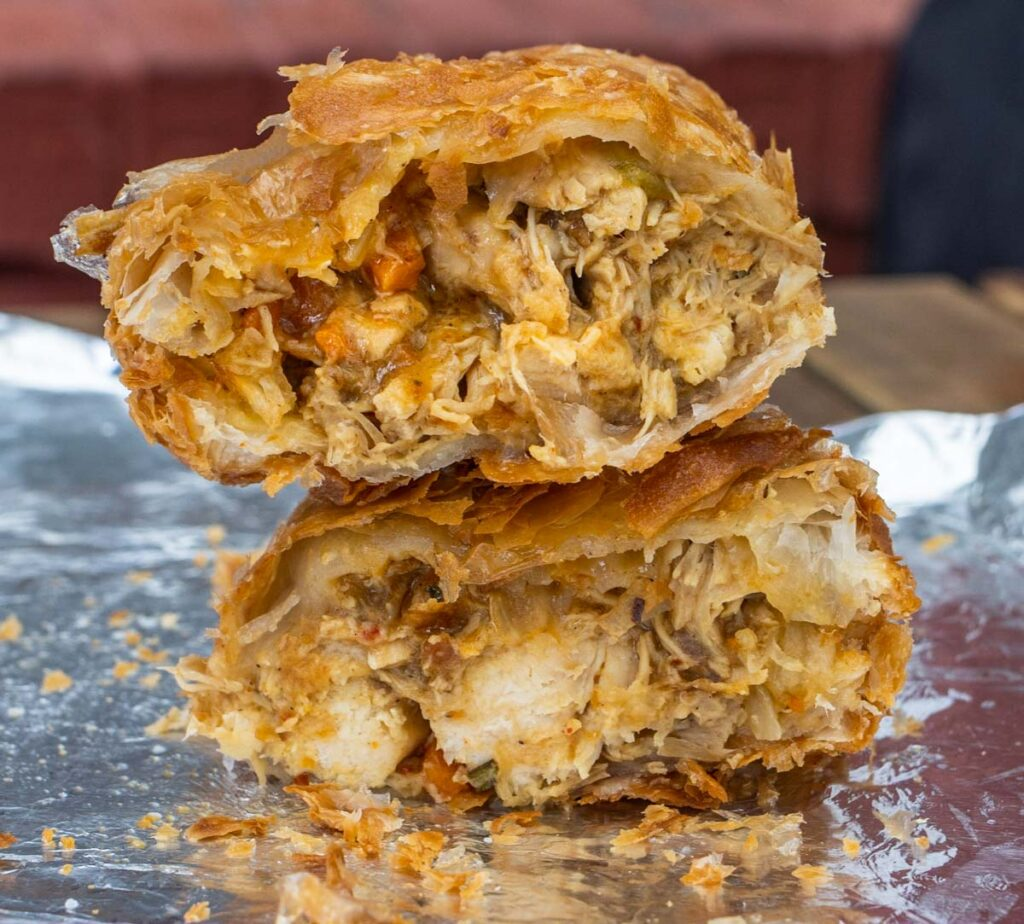 Fried Chicken Pot Pie at Turkey and the Wolf in New Orleans