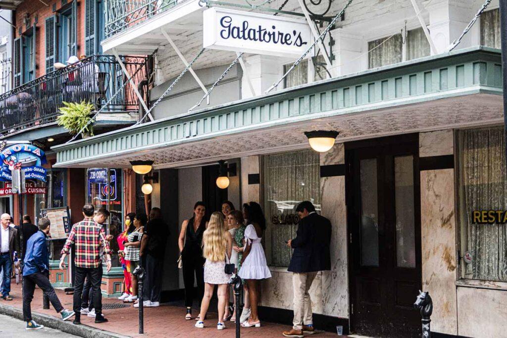Galatoires in New Orleans