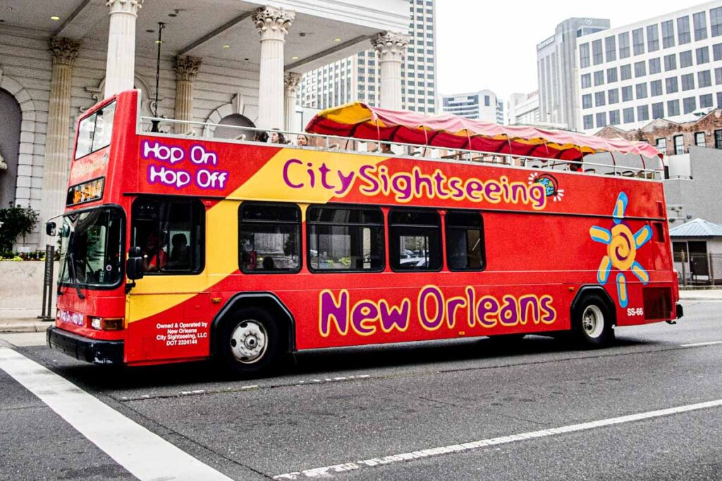 Hop On Hop Off Bus in New Orleans