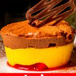 "Pinterest image: Italian dessert with caption reading ""Italian Desserts"""