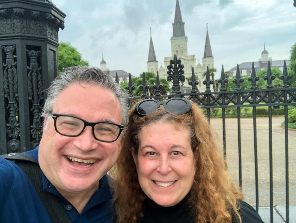 Jackson Square Selfie in New Orleans