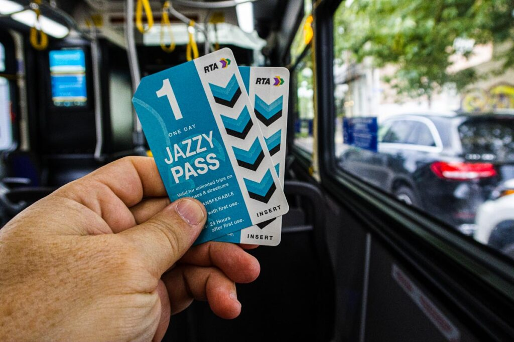 Jazzy Passes in New Orleans