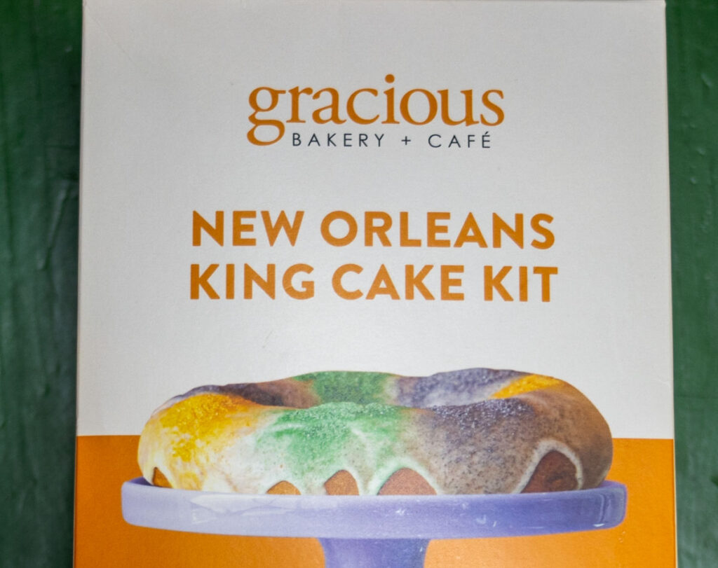 King Cake Mix in New Orleans
