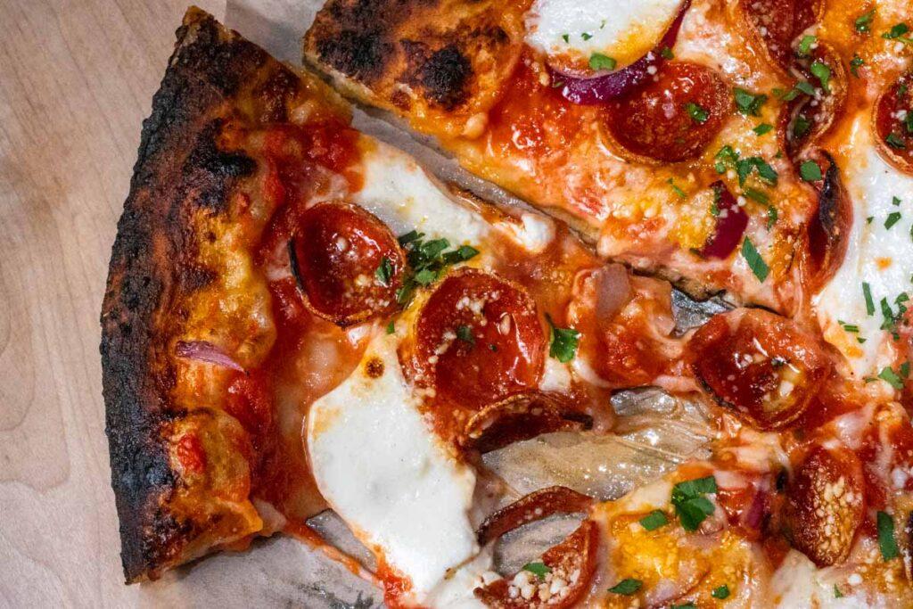 Pepperoni Pizza at LOLA Pizza in Kingston