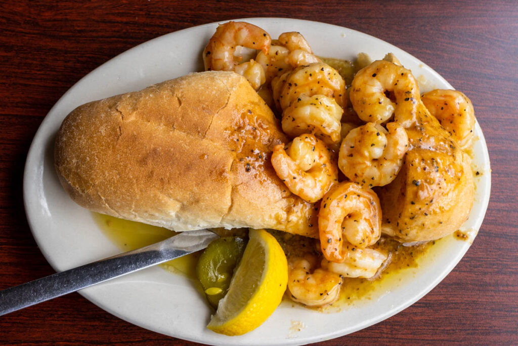 Po Boy at Liuzzas by the Track in New Orleans