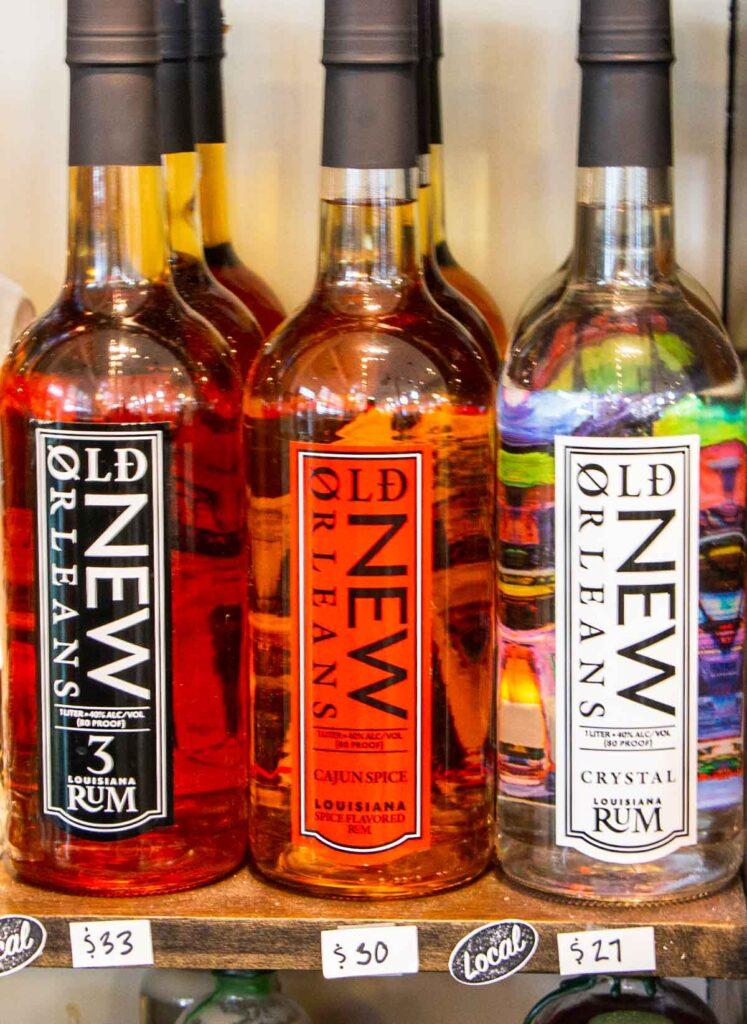 Rum in New Orleans