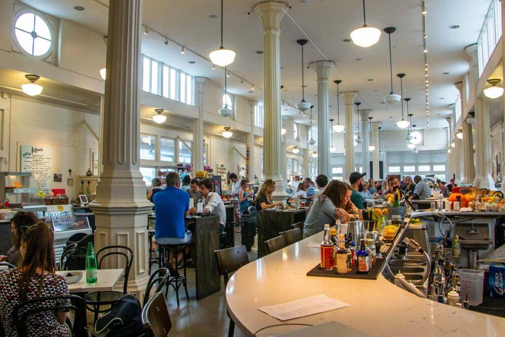 St Roch Market Interior