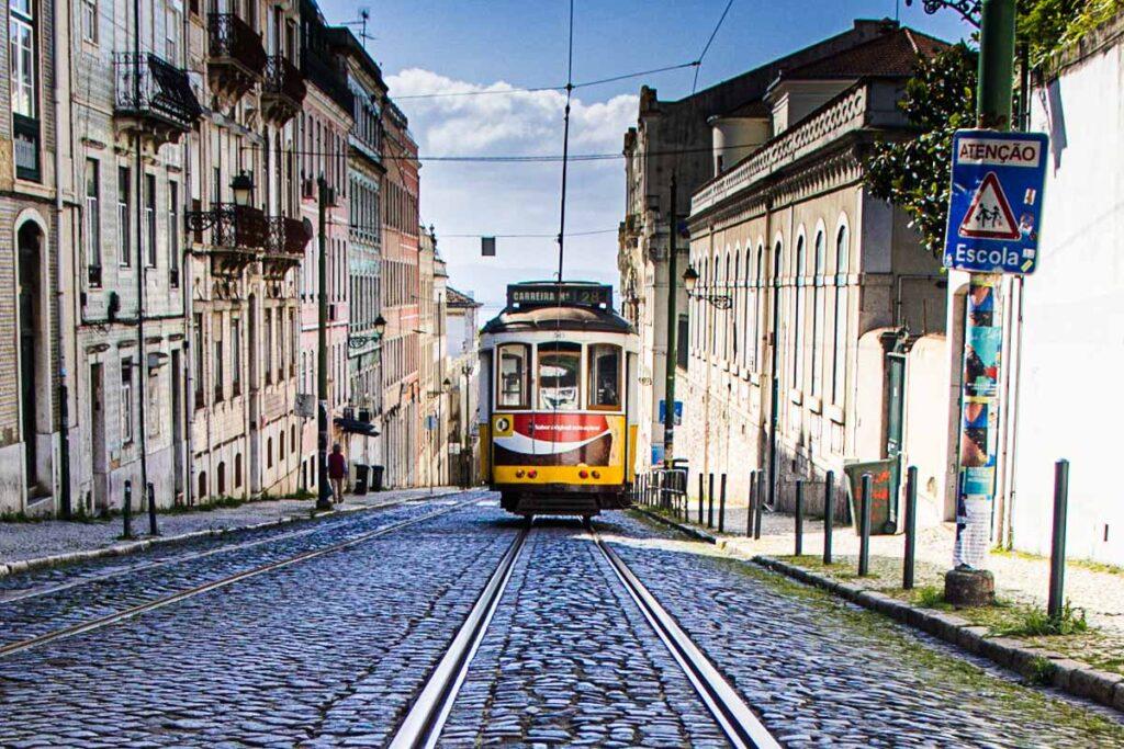 28 Tram in Lisbon