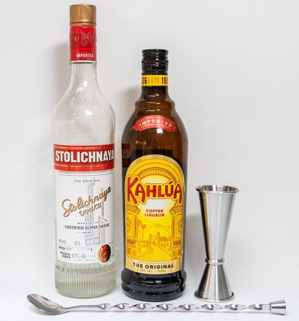 Black Russian Ingredients