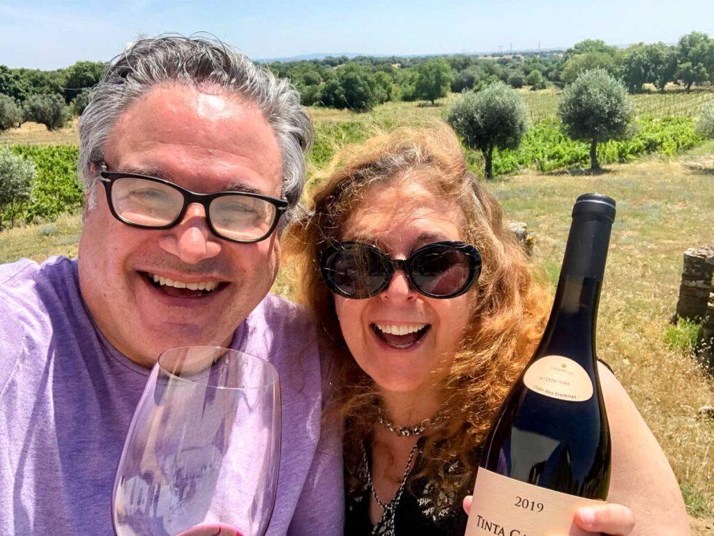 Portugal Wine Selfie