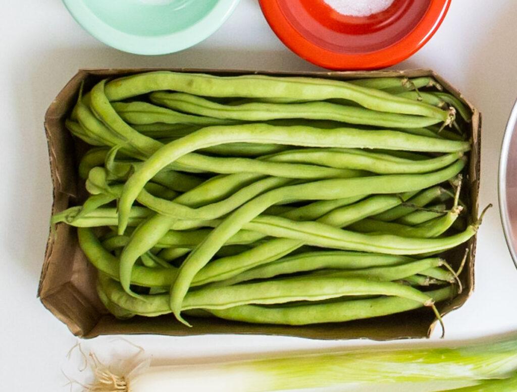 Raw String Beans