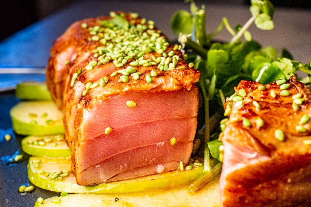 Seared Tuna at Taberna Rua das Flores