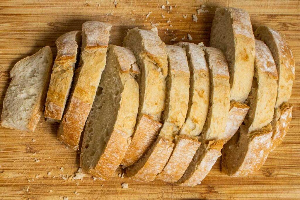 Sliced Bread for Papa al Pomodoro