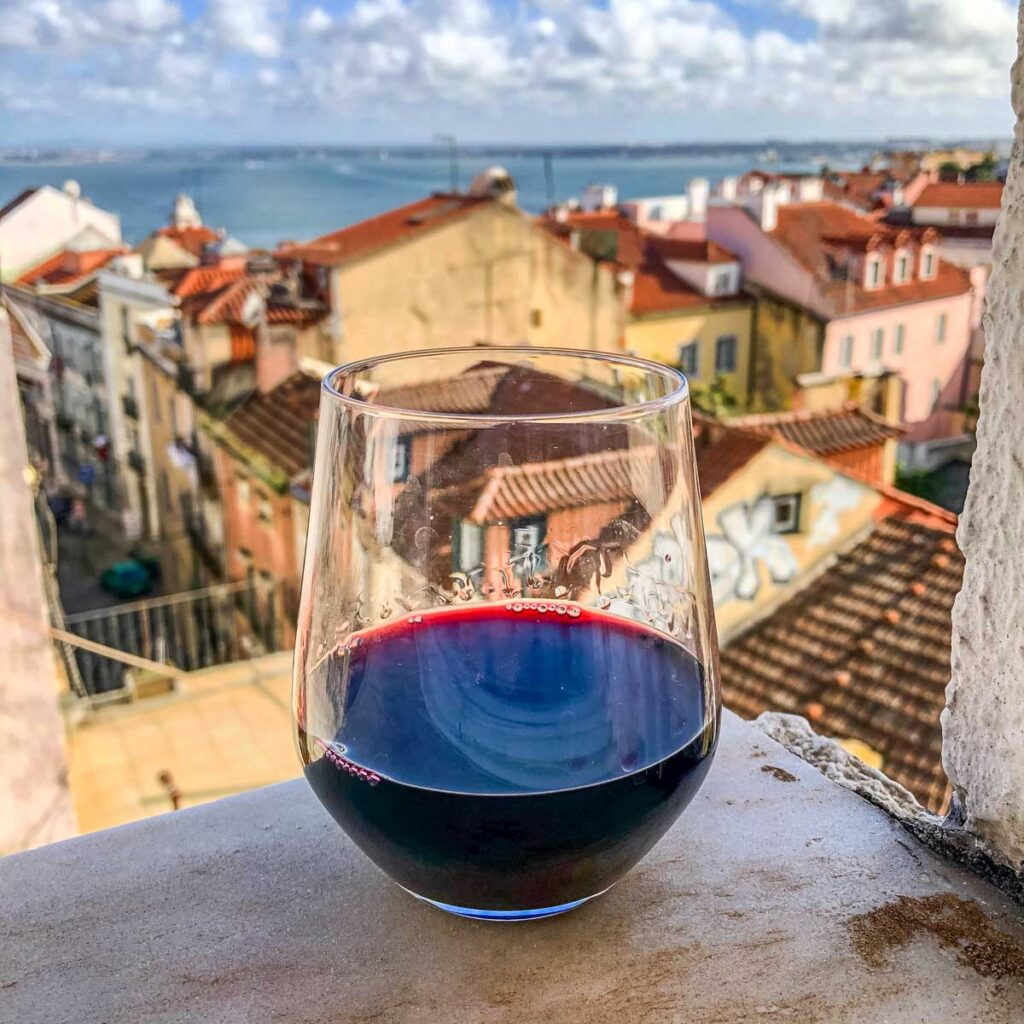 Wine with a View in Lisbon