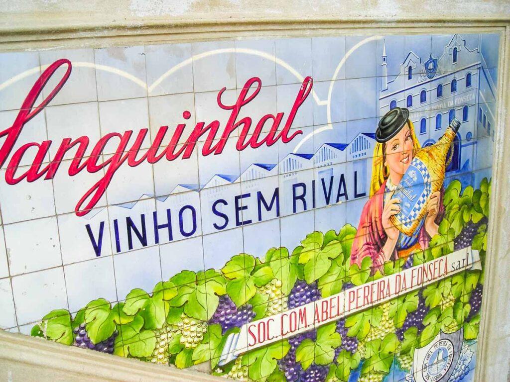 Sanguinhal Wine Art at the Mercado Bolhao