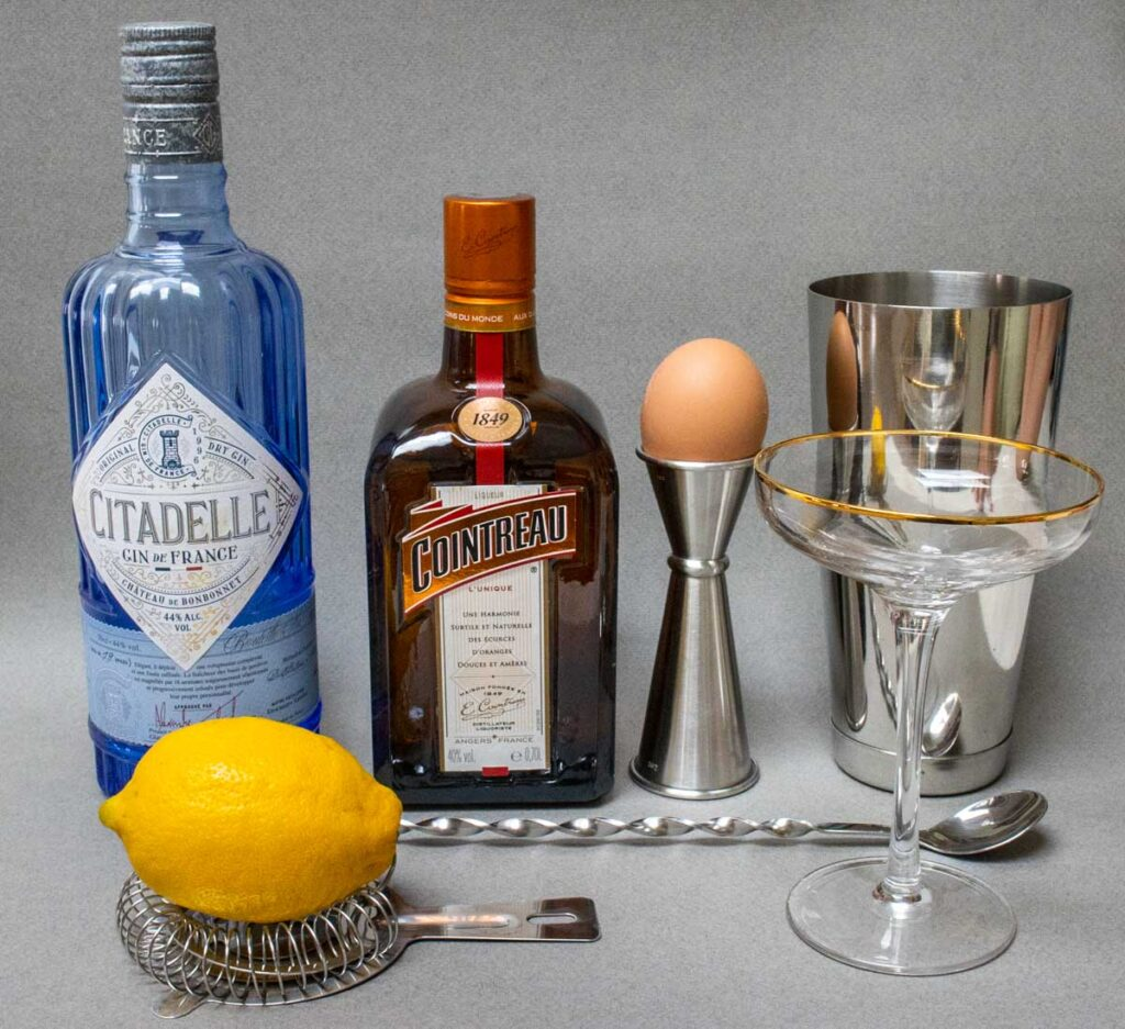 White Lady Cocktail Ingredients