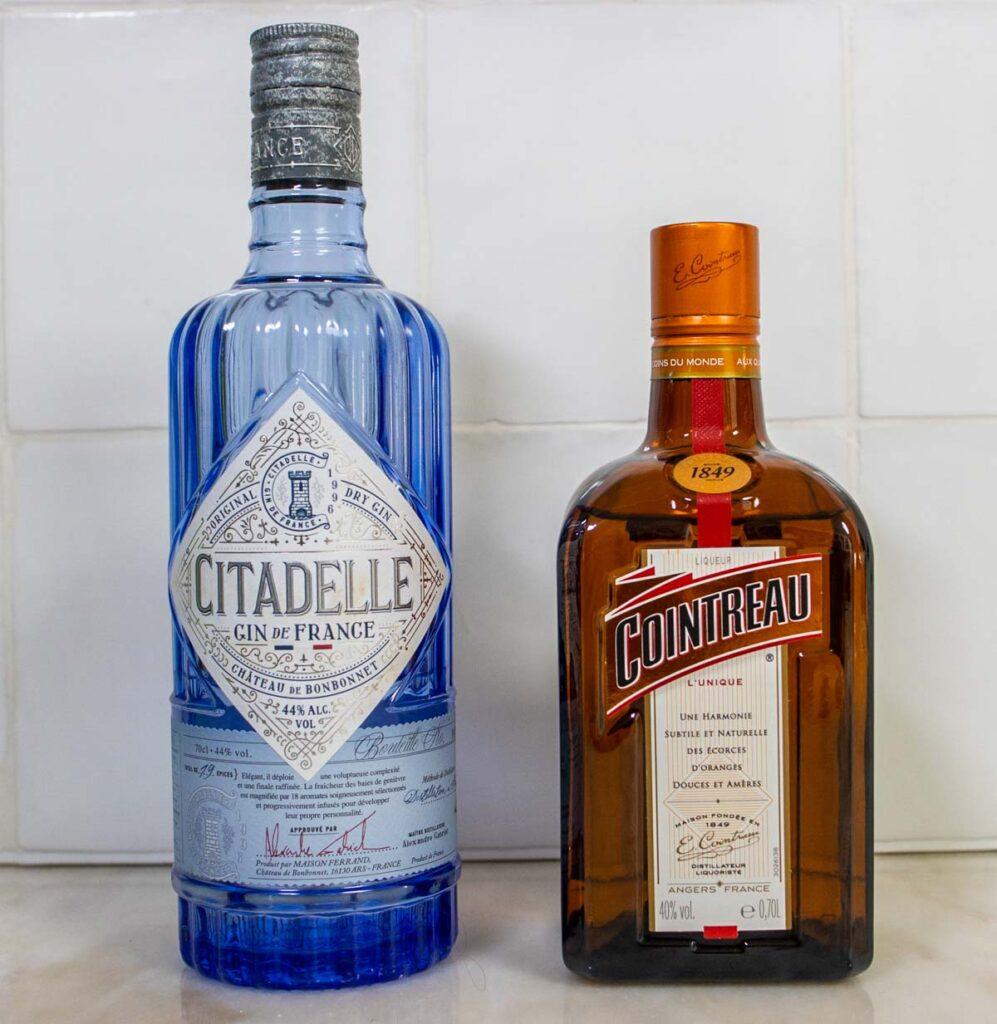 White Lady Cocktail Liquors